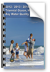 2012/2013/2014 Triennial Ocean, Harbor & Bay Water Quality Report